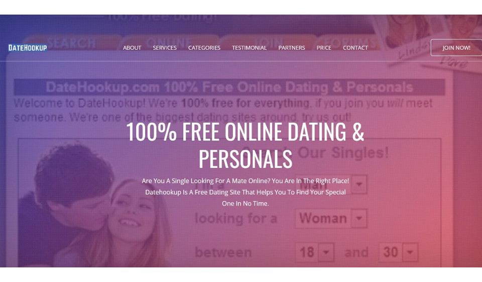 DateHookUp Review 2021