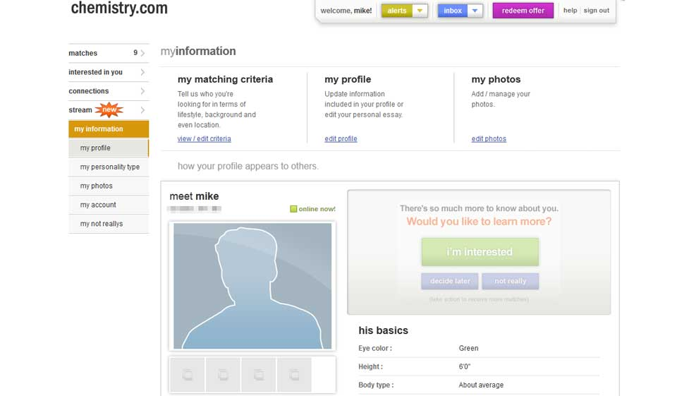 dating site- ul chimie