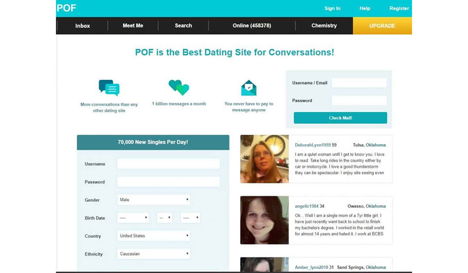 POF Rencontres dans l'App Store