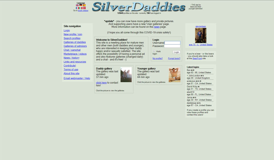 SilverDaddies Recensione 2021